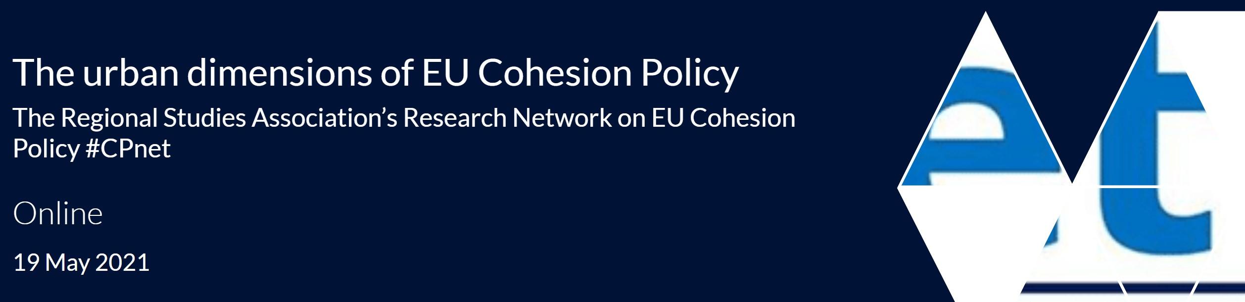 sonia de gregorio webinar eu cohesion policy